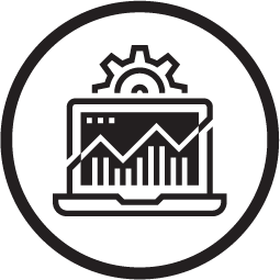 Circle engineering services icon